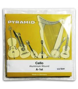 Foto da capa da embalagem do Jogo de Cordas Pyramid 170100 para Violoncelo 1/2