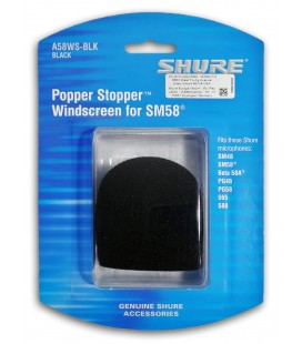 Photo of the Microphone Protection Shure A58WS Windscreen inside it's package