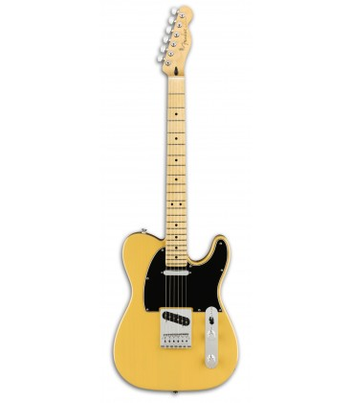 Foto da Guitarra Elétrica Fender modelo Player Telecaster MN em cor Butterscotch Blonde