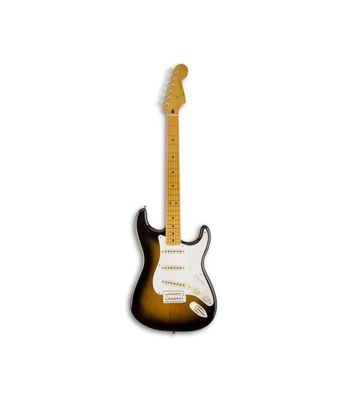 Foto de la guitarra Squier Classic Vibe Strat 50S Sunburst