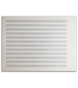 Photo of the Sheet Music Artcarmo Notebook 12P Horizontal