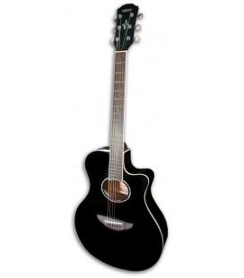 Foto da Guitarra Electroacústica Yamaha modelo APX600 BL