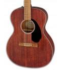Foto de la tapa de la Guitarra Folk Fender modelo CC-60S Concert All Mahogany