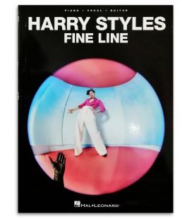 Foto de la portada del libro Harry Styles Fine Line