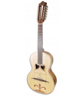 Photo of the Artimúsica Viola da Terra model VA90C Simple 2 Hearts