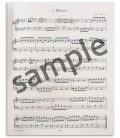 Foto de uma amostra do Livro Edition Peters EP4546 Bloco Notas Anna Magdalena Bach