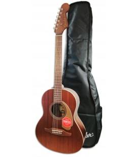 Acoustic Guitar Fender Sonoran Mini All Mahogany with Bag