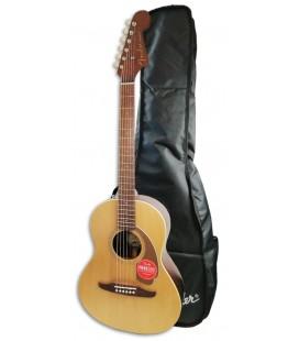 Guitarra Acústica Fender Sonoran Mini con Funda