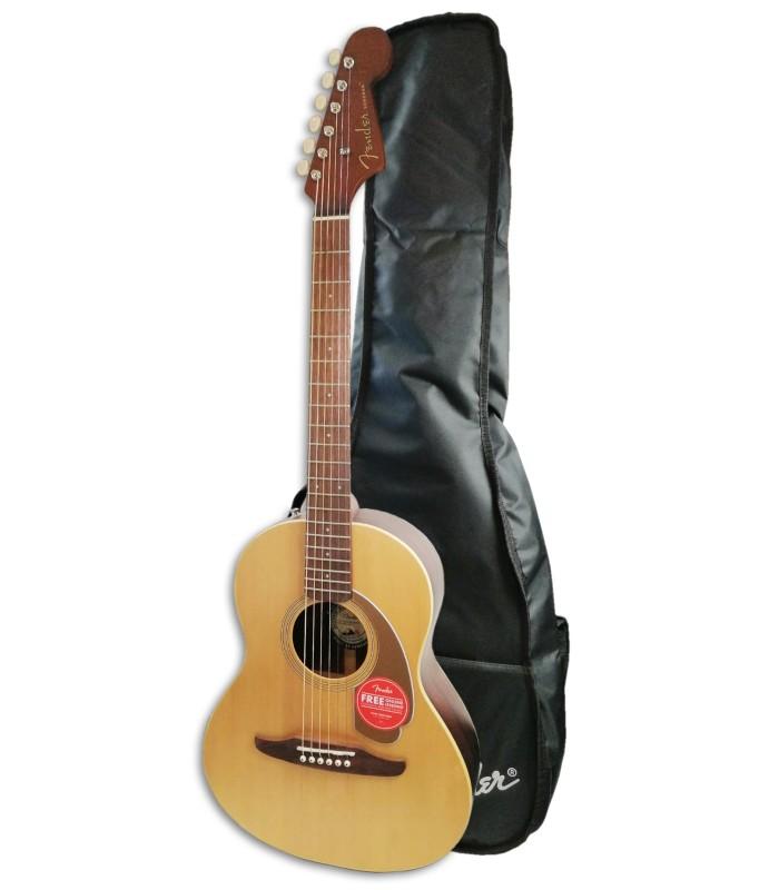 Foto de la Guitarra Acústica Fender modelo Sonoran Mini con Funda