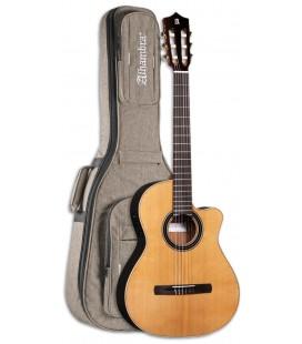 Guitarra Acústica Alhambra CS LR CW E1 EQ Crossover com Saco