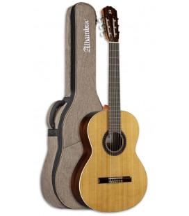 Guitarra Clássica Alhambra 1C HT 3/4 Cedro Sapelie com Saco