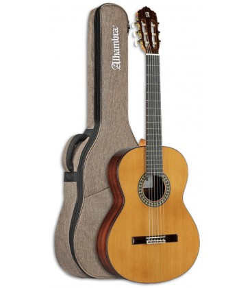 Photo of the Classical Guitar Alhambra model 5P 7/8 size with Bag
