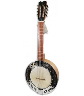 Foto do Banjo Bandola APC modelo BJMDA100 em Koa