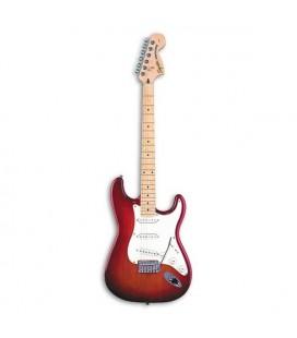 Guitarra Elétrica Fender Squier Standard Stratocaster MN Cherry Sunburst