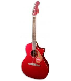 Guitarra Electroacústica Fender New Porter Player Candy Apple Red