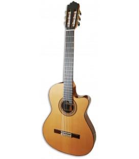 Paco Castillo 235 TE Guitarra Cl叩ssica Equalizador Estreita
