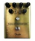 Foto dos controlos do Pedal Fender modelo Pugilist Distortion