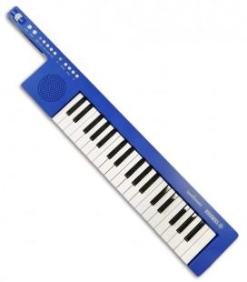 Foto do Teclado Yamaha modelo Sonogenic SHS-300BU em cor Azul e com 37 Notas