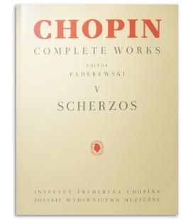 Foto de la portada del libro Chopin Scherzos Paderewski