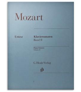 Foto de la portada del libro Mozart Piano Sonatas Vol 2