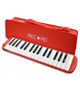 Foto de la Melodica Record M 32RD Roja con estuche