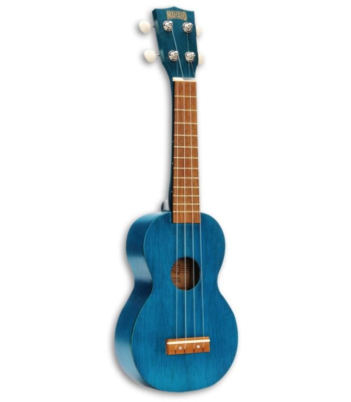 Foto do Ukulele Mahalo modelo MK1TBU Soprano Azul
