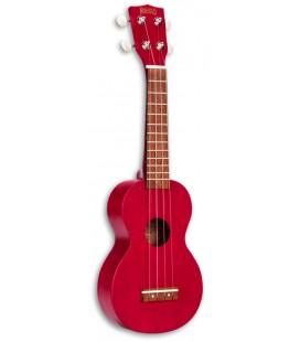 Photo of the Mahalo Ukulele model MK1TRD Soprano Red