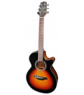 Foto de la Guitarra Electroac炭stica Takamine modelo GF15CE-BSB FXC Brown Sunburst