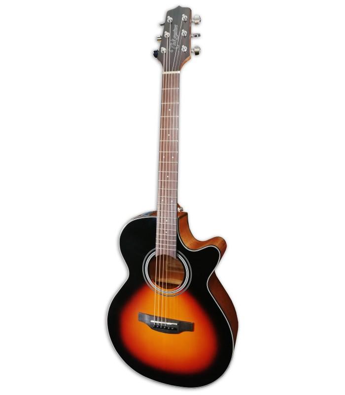 Foto da Guitarra Eletroac炭stica Takamine modelo GF15CE-BSB FXC Brown Sunburst