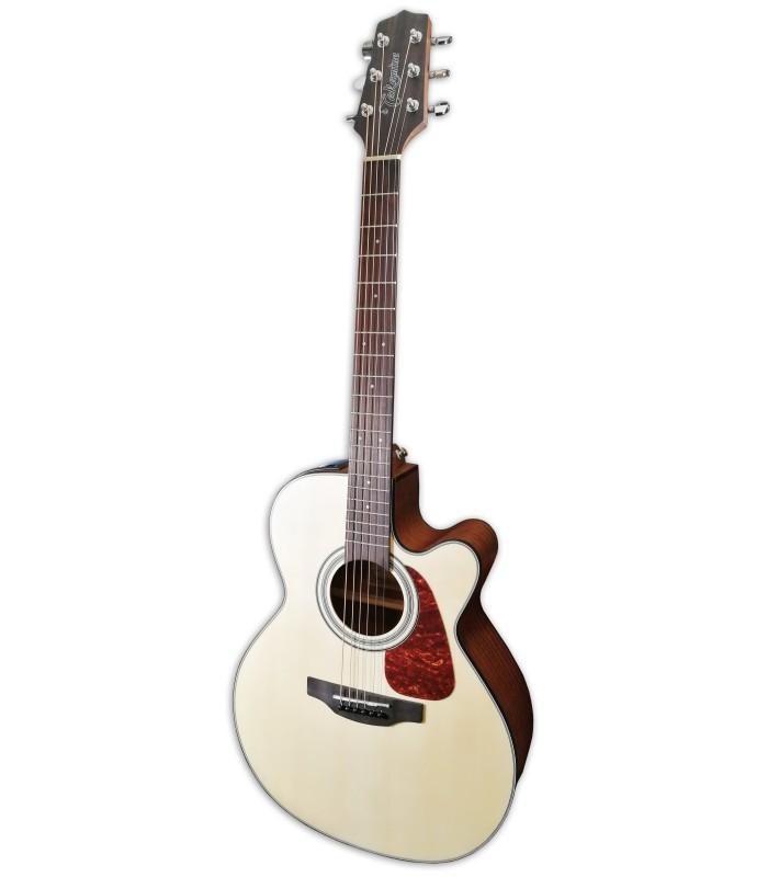 Foto da Guitarra Eletroac炭stica Takamine modelo GN10CE-NS CE Nex Natural