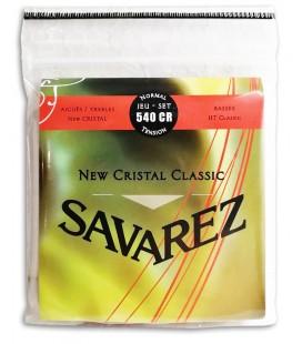Foto da capa da embalagem Jogo de Cordas Savarez 540 CR Guitarra Cl叩ssica New Crystal Classic