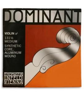 Foto da capa da embalagem da Corda Thomastik Dominant 131 para Violino 1/2 2捉 L叩