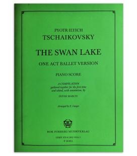 Foto da capa do livro The Swan Lake Tschaikovsky 1 Ato Ballet version Piano