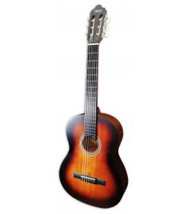 Photo of the classical guitar Valencia VC204 CBS sunburst mate