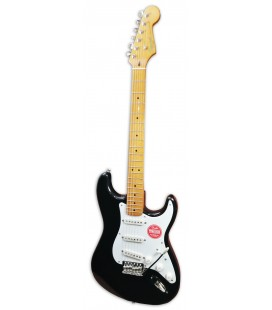 Photo of the eletric guitar Fender Squier model Classic Vibe Strat 50S MN Black