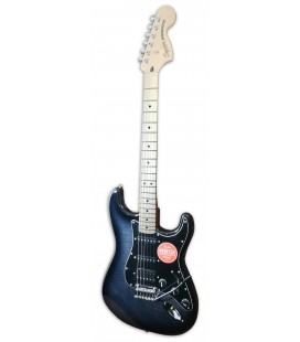 Photo of the electric guitar Fender Squier model Affinity Stratocaster FMT HSS MN BBST