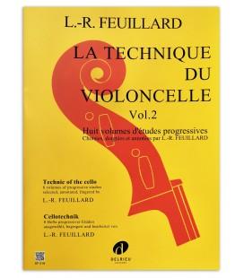 Photo of the book Feuillard La technique du violoncelle vol 2's cover