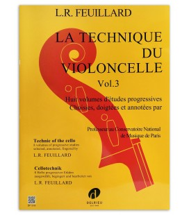 Photo of the book Feuillard La technique du violoncelle vol 3's cover