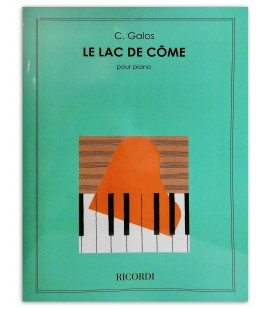 Photo of the piano book C. Galos Le Lac du C担me OP 24's cover