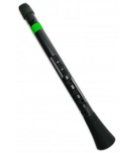 Foto do clarinete Nuvo N430 DBGN Dood em D坦 em cor preta e verde