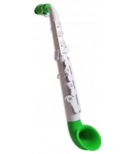Foto del saxof坦n Nuvo Jsax N520JWGN en color blanco y verde