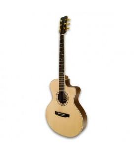 Guitarra Eletroacústica APC EA100CW Cutaway Pick Up Afinador