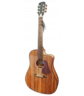Foto de la guitarra electroac炭stica APC modelo WG300SKOACW dreadnought en koa y con cutaway