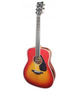 Foto de la guitarra ac炭stica Yamaha modelo FG830 AB con acabado Autumn Burst