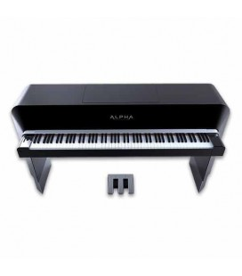 Piano Digital Alpha 88 Teclas Alpha Studio Negro o Gris