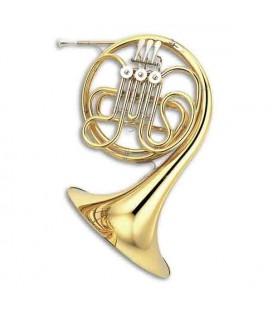 Trompa Yamaha YHR 314 II Standard Simples Fá Dourado com Estojo