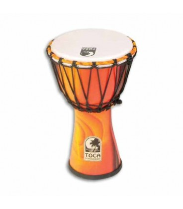djembe toca percussion sfdj 7f freestyle rope tuned fiesta. Black Bedroom Furniture Sets. Home Design Ideas