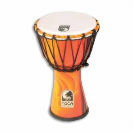 Djembe Toca Percussion SFDJ 7F Freestyle Rope Tuned Fiesta