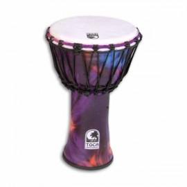 Djembe Toca Percussion SFDJ 9WP Freestyle Woodstock Purple