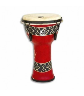 Djembe Toca Percussion SFDMX 9RP Freestyle Afinação Mecânica Bali Red